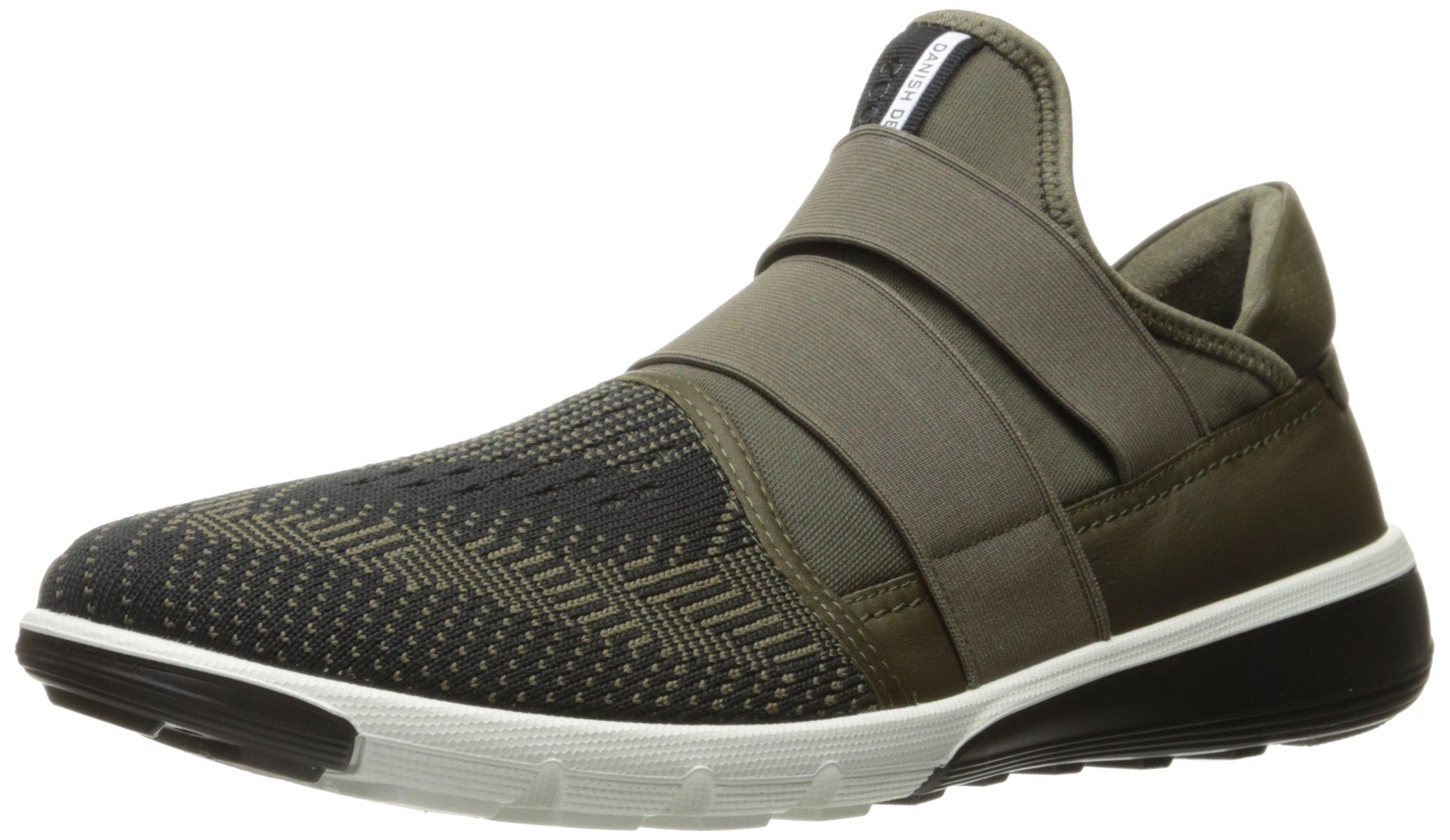 ECCO Men's Intrinsic 2 Slip on Fashion Sneaker, Tarmac, 45 EU/11-11.5 M US