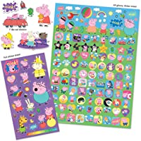 Paper Projects 01.70.22.018 Peppa Pig Mega Sticker Pack, 29.7cm x 21cm