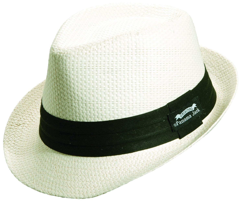 Panama Jack Men's Matte Toyo Fedora PJ86