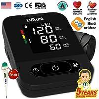 Dr Trust Smart Talking Automatic Digital Bp Machine (Black)
