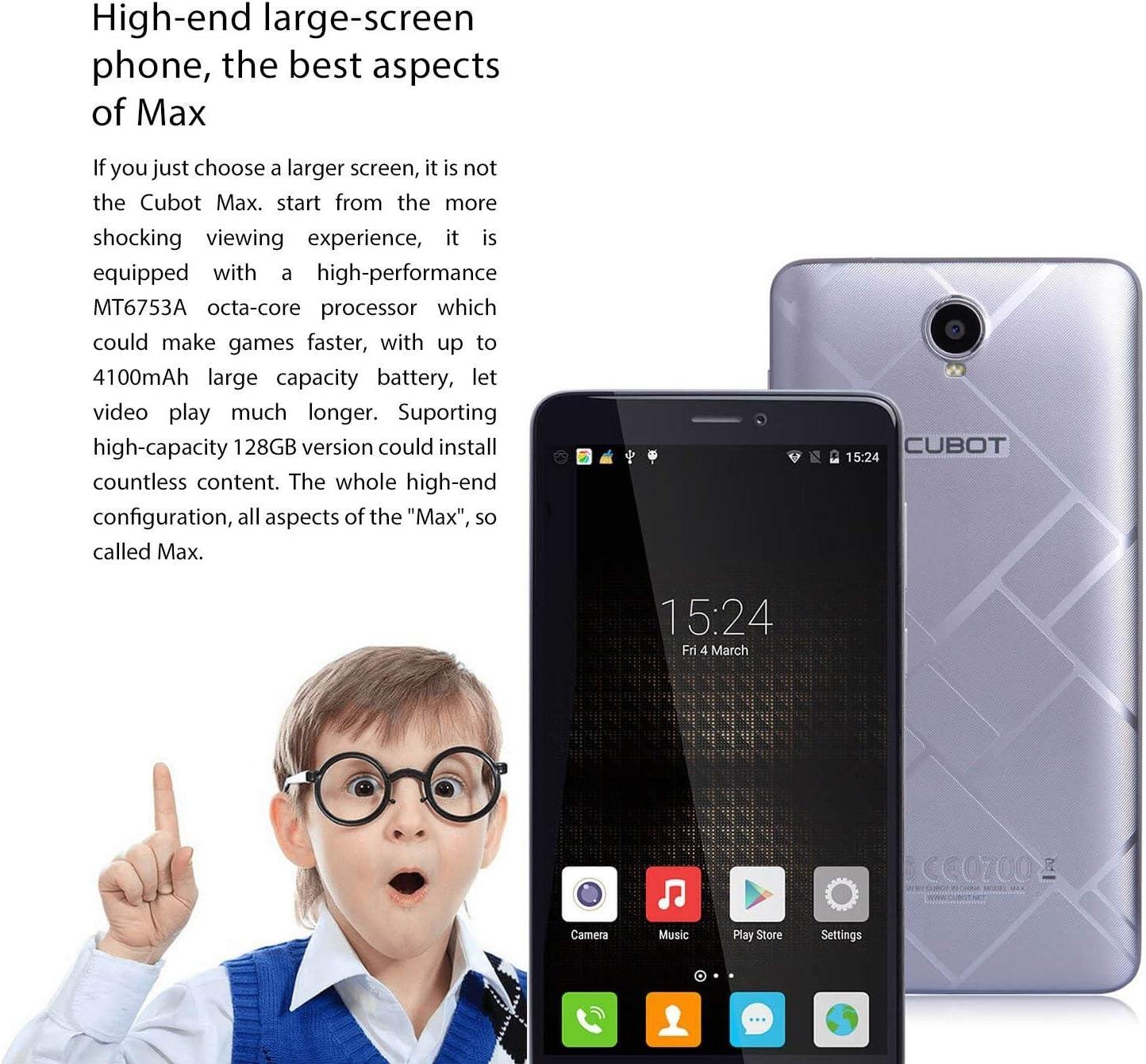 Cubot Max 4G Smartphone: Amazon.es: Electrónica