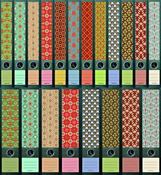 "File Art – Archivadores Diseño Etiquetas – Diseño ""Pattern para 8 ancho +"