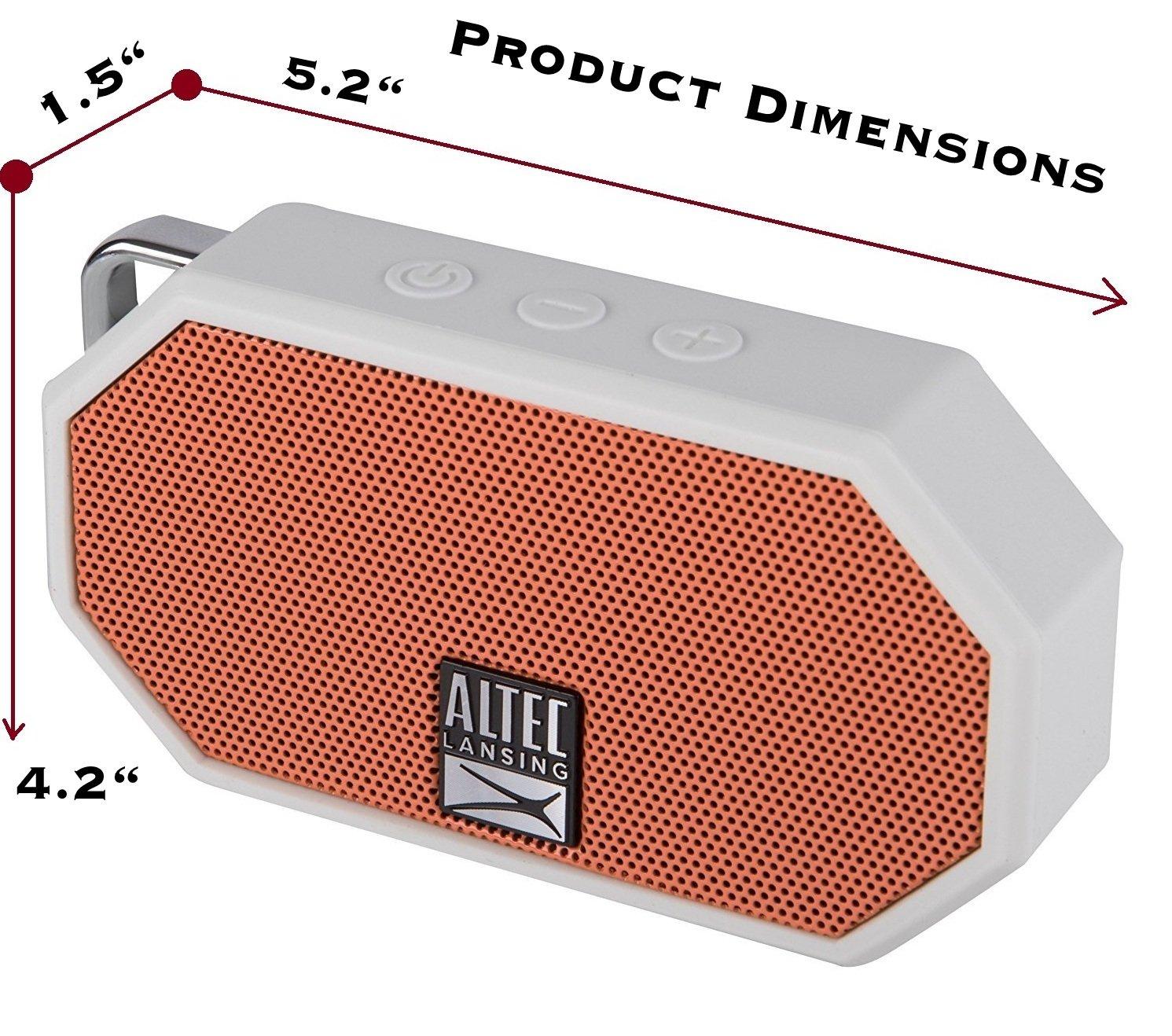 Altec Lansing IMW257 OW TA Waterproof Ultra Portable Image 3