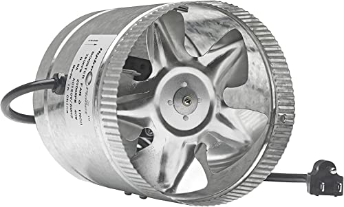 Broan 688 50 CFM 4.0 Sones Ventilation Fan, White Grille
