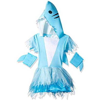 Girl's Sharp-Toothed Tutu Costume: Toys & Games