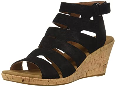 Rockport Briah Banded Sling Wedge Sandals Women's Shoes pnCXKsAAi0