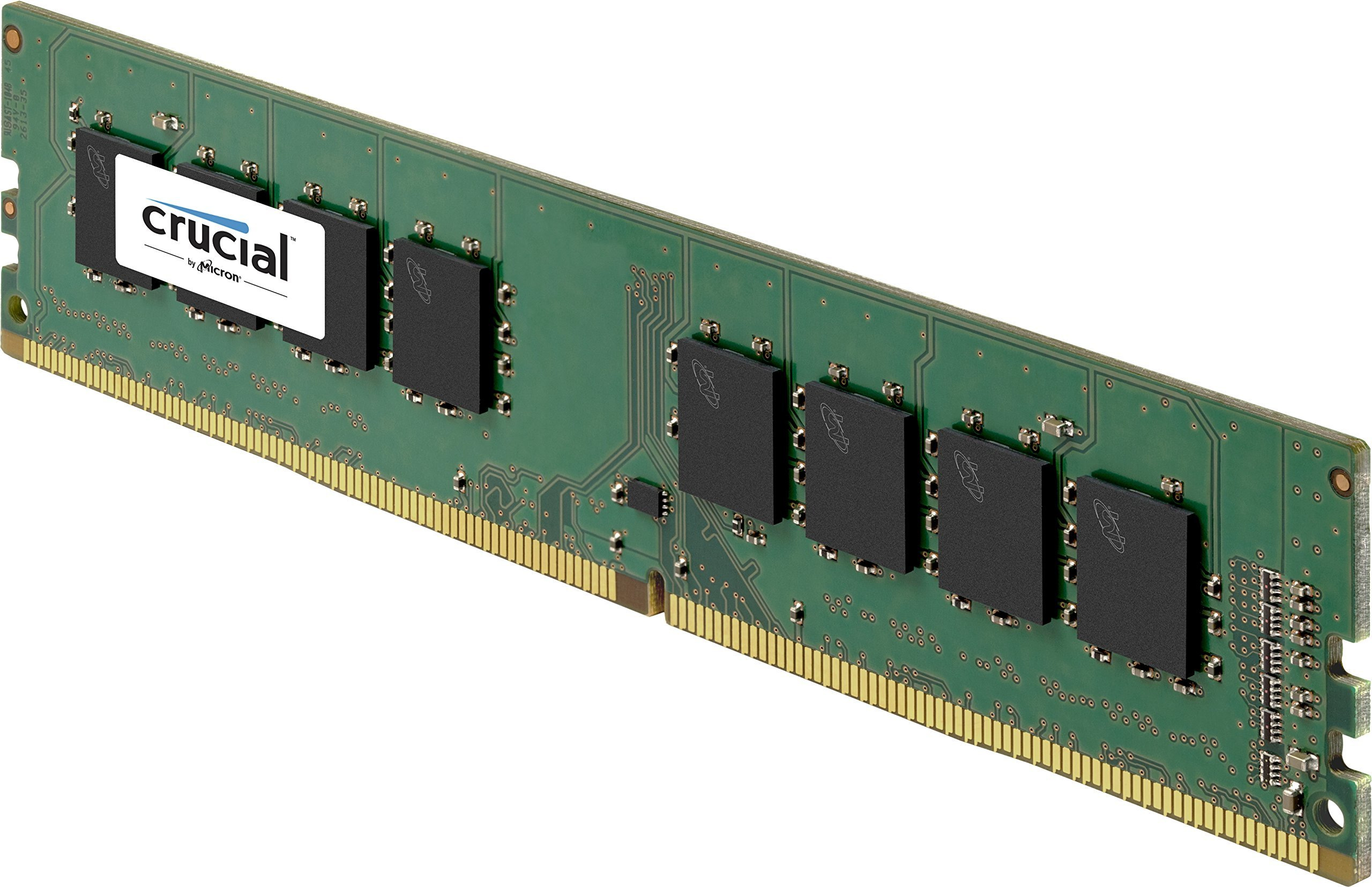 Crucial 8GB Single DDR4 2133 MT/s (PC4-17000) SR x8 Unbuffered DIMM 288-Pin Memory - CT8G4DFS8213 by Crucial