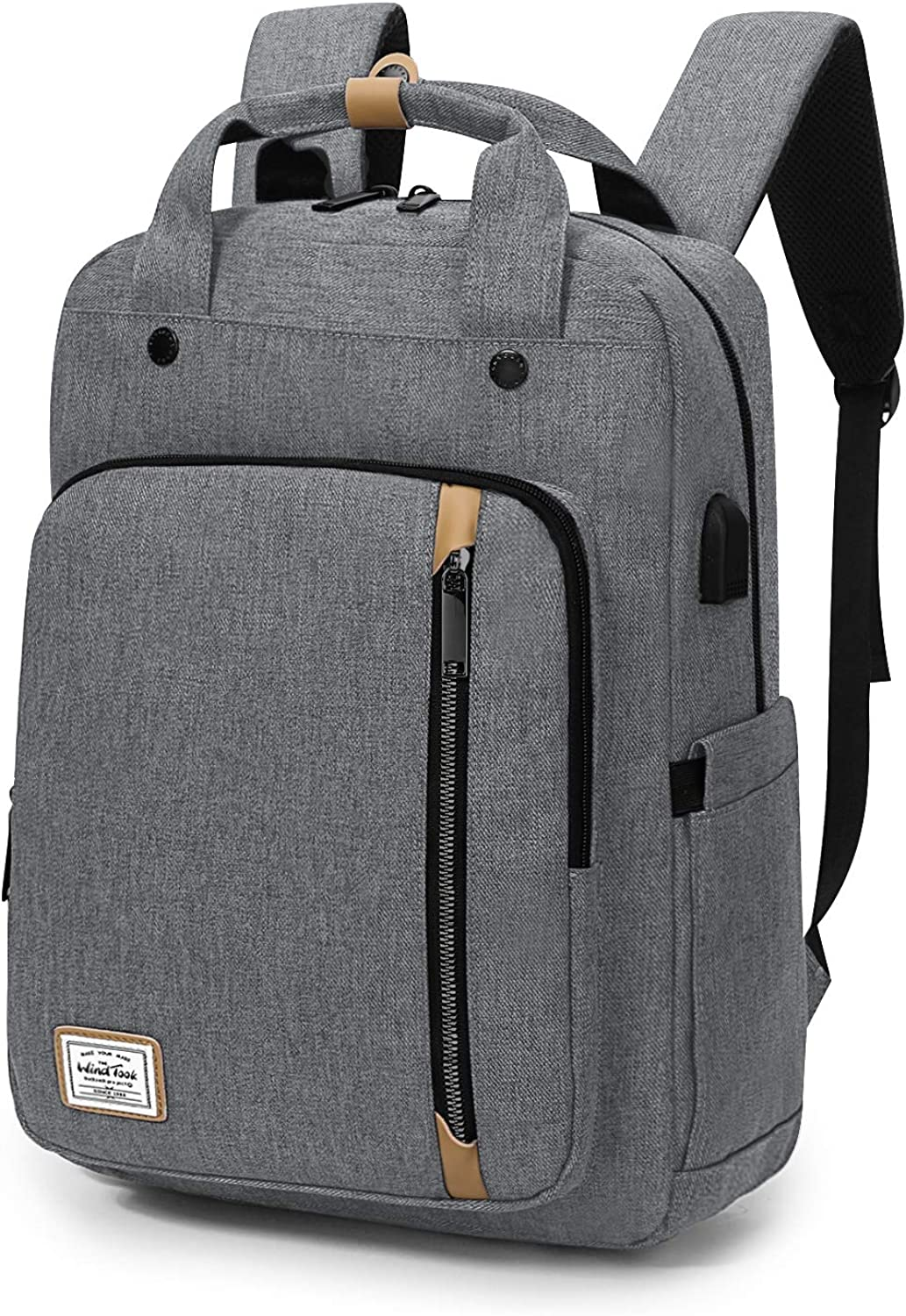 WindTook 15.6 Laptop Backpack for Women and Men Travel School College Daypack