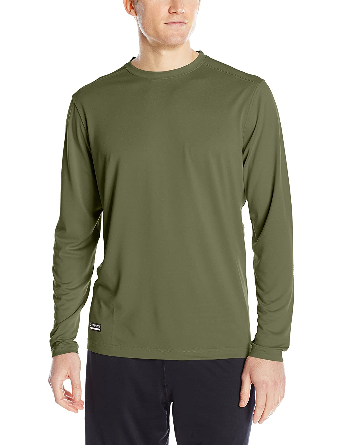 Amazon.com: Under Armour Men's Tactical UA Tech Long Sleeve T ...
