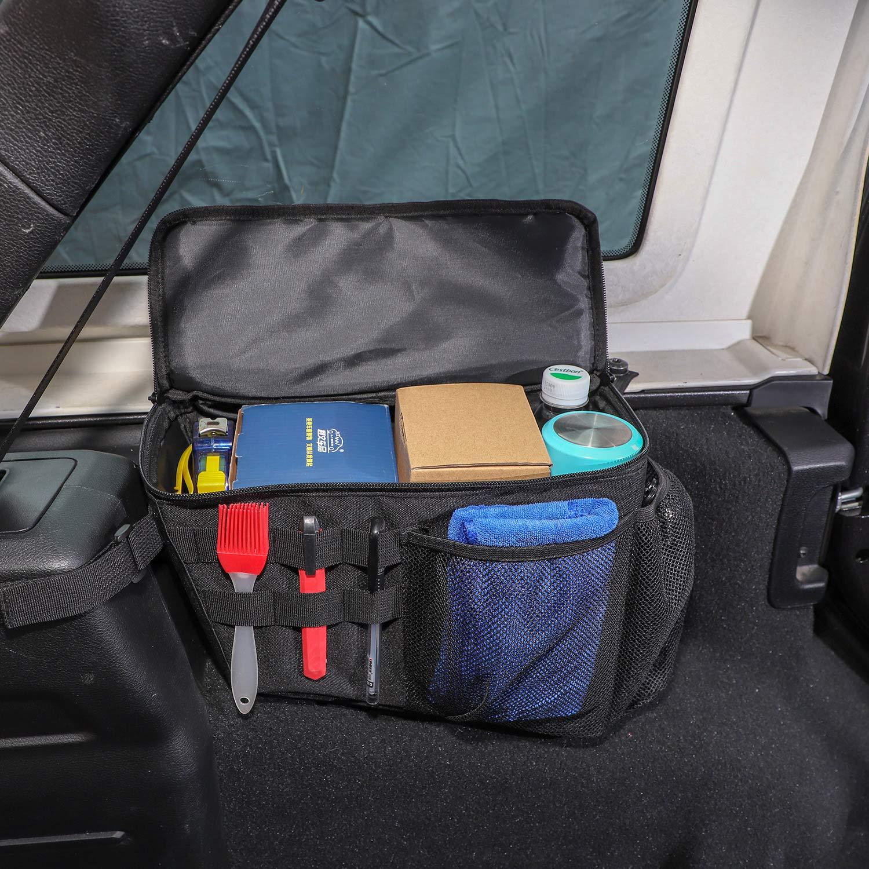 RT-TCZ Trunk Organizer,Storage Bag Accessories for 2018-2020 Jeep Wrangler JL 4-Door