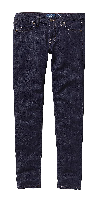 Patagonia WS Slim Pantalones Vaqueros, Mujer, Azul (Dark ...