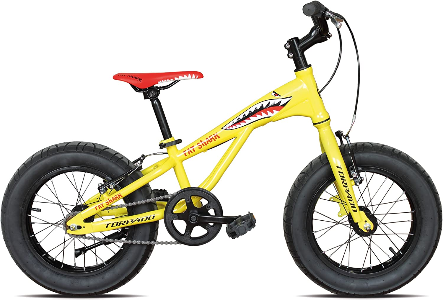TORPADO &apos Bicicleta Fat Bike Fat Shark 16