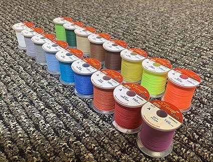 HITENA STWRAP Rod Wrapping Thread Metallic Aurora 8 Color Pack