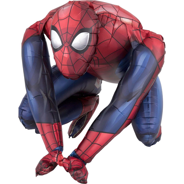 amscan 3819401 Spider-Man - Globo de plástico con diseño de ...