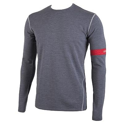 MyPakage Men's Premium Wool Tops, Charcoal Heather, Medium