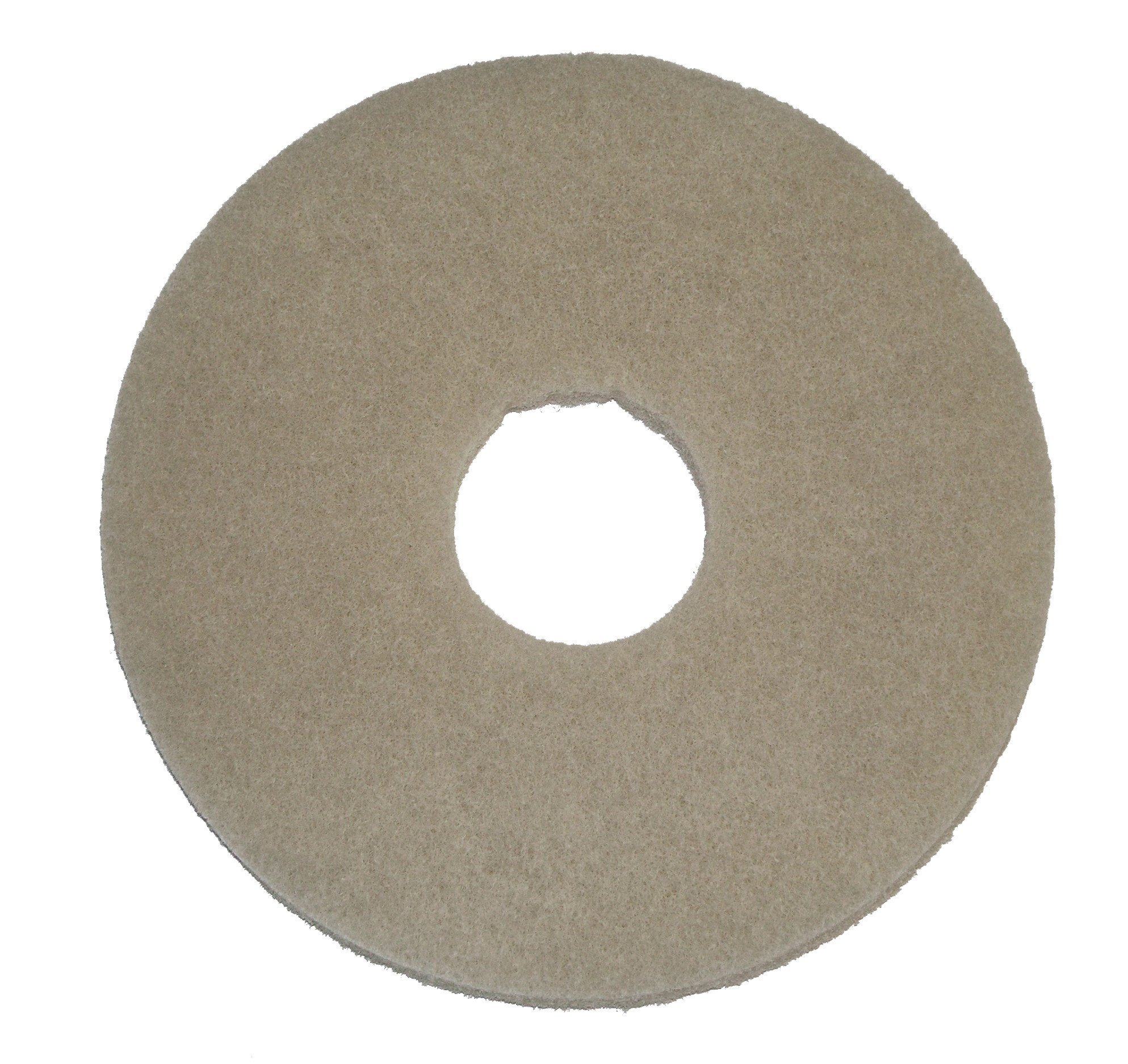 BISSELL BigGreen Commercial 437.049BG-C Scrub Pad for BGEM9000 Easy Motion Floor Machine, 12'', Brown (Pack of 5)