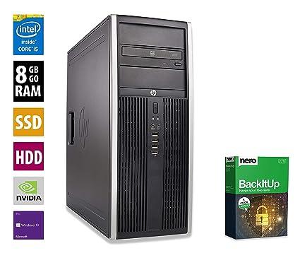 Pc Gamer Multimedia Unite Centrale Hp Elite 8300cmt Nvidia Geforce Gtx 1050 Core I5 3470 3 2ghz 8 Go Ram 1to Hdd 240go Ssd Lecteur Dvd