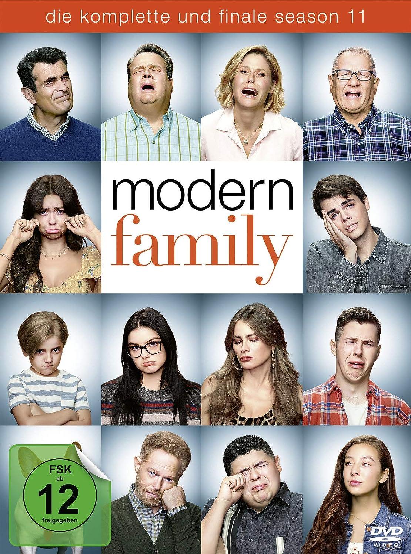 Cover: Modern family - die komplette und finale season 11 3 DVD-Videos (circa 6 h)