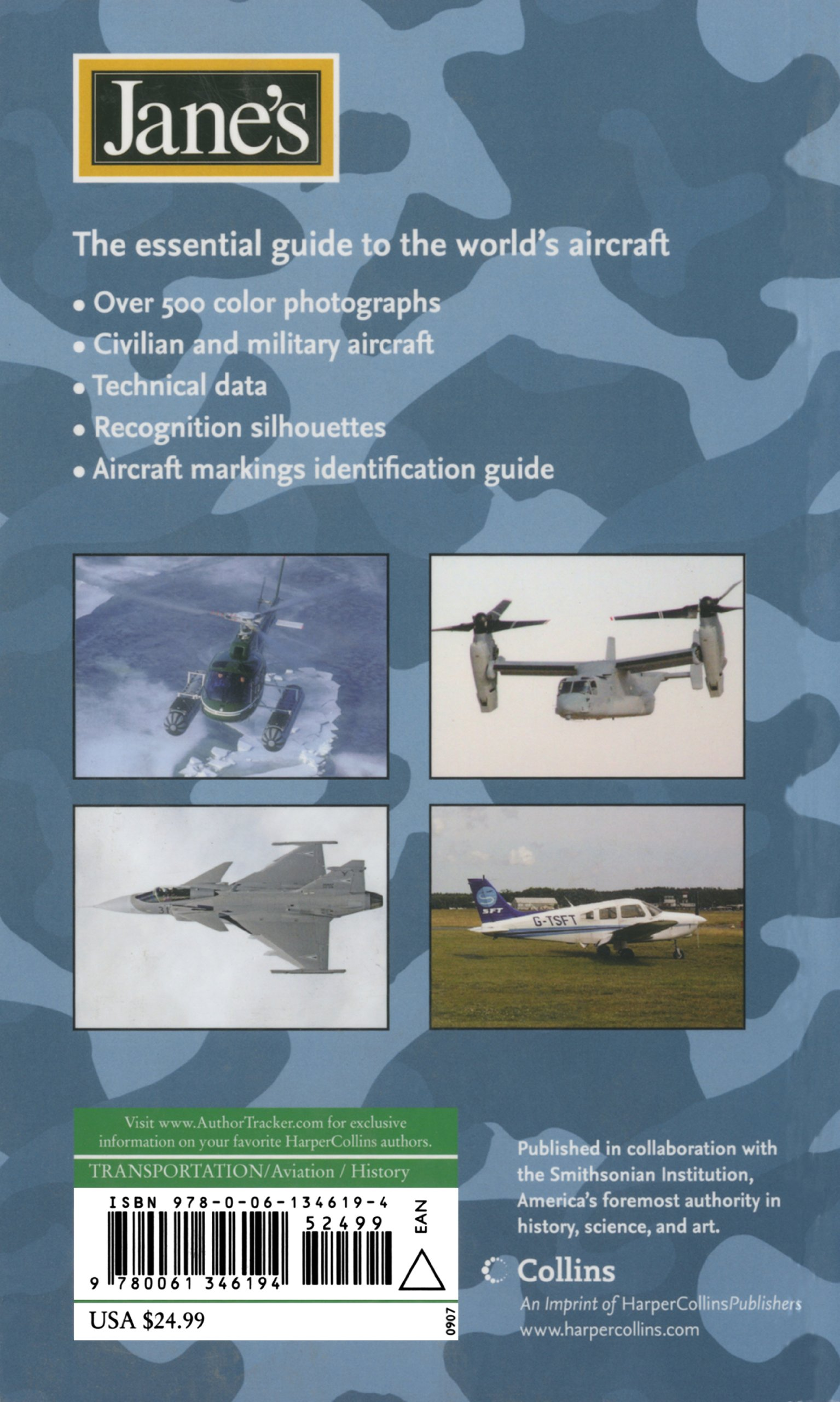 Jane's Aircraft Recognition Guide Fifth Edition: Michael J Gething