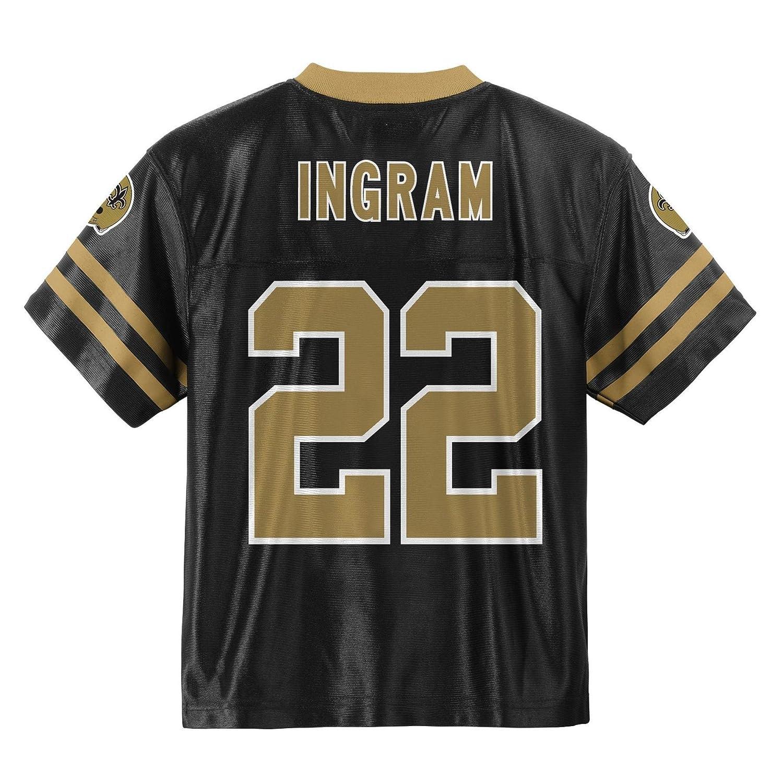 84e247ee Outerstuff Mark Ingram New Orleans Saints Black Toddler Player Home Jersey