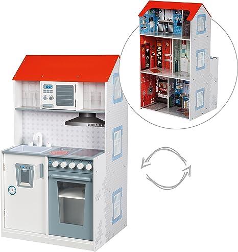 Casa tematica roba 2 en 1, casa de juegos tematica reversible y ...