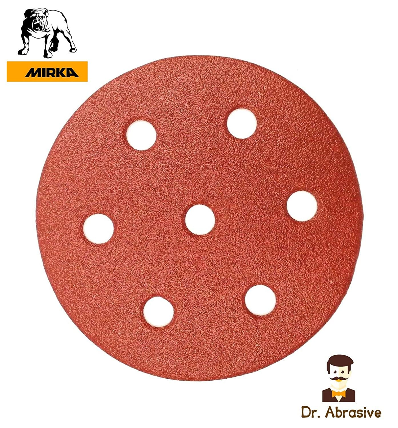 Model 750W Only 180 mm 8 Hole Sanding Discs 7 for Workzone Aldi Mirka Pads Pack of 10 P180 Quality 407