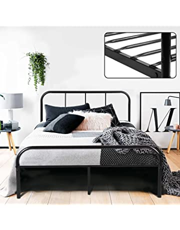 Home, Furniture & Diy Pandora Grey Double Bed Frame For Fast Shipping