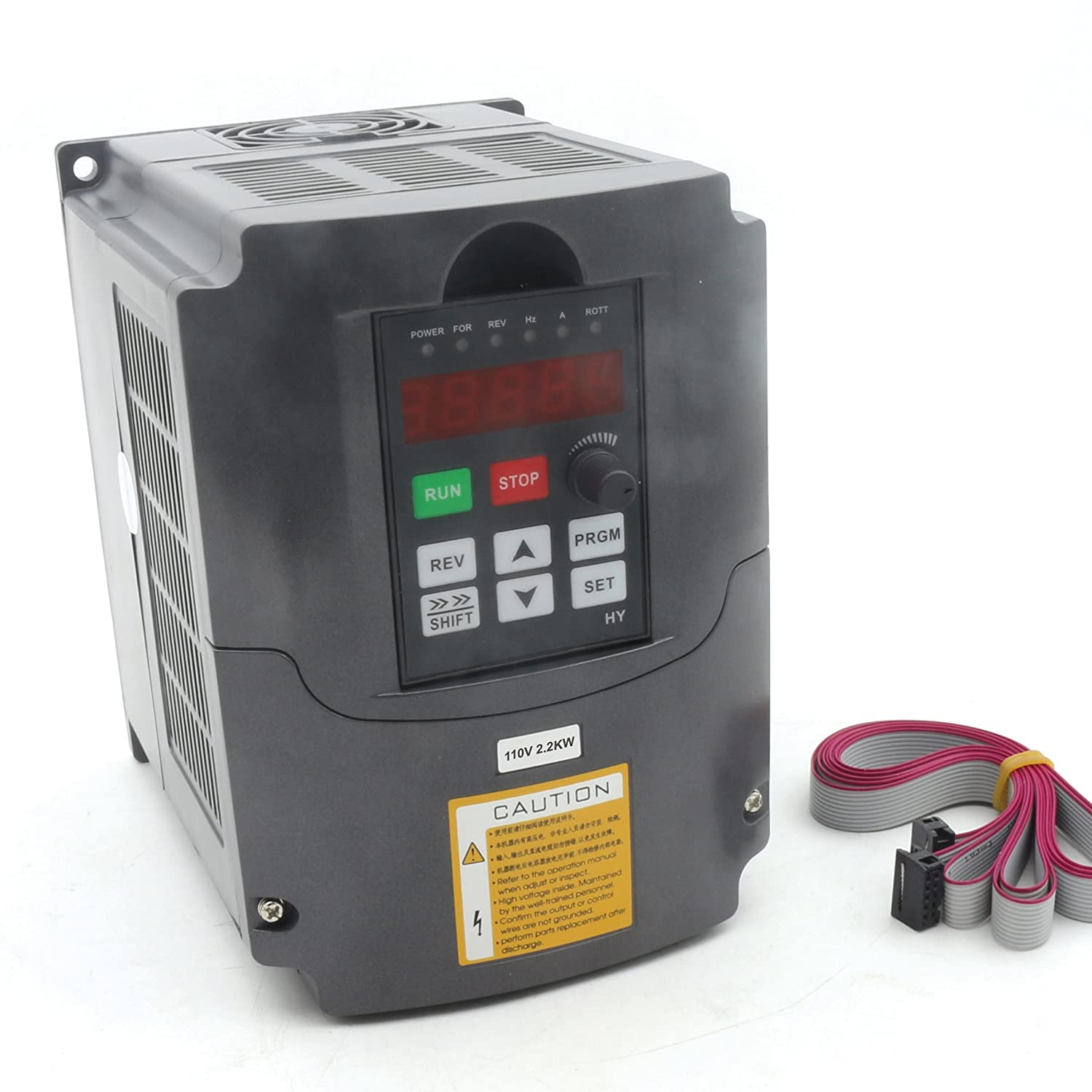 CNC 2.2KW Spindle Motor Speed Control 110V Variable Frequency Drive VFD 1HP or 3HP Input 3HP Frequency Inverter for CNC Router Milling Machines