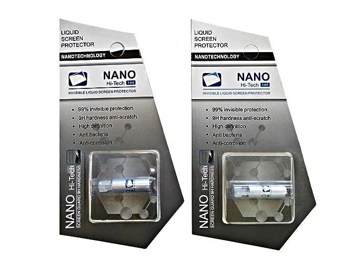 Amazon com: Liquid Glass Screen Protector [2-Pack] New Nano