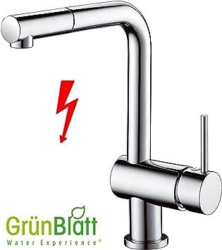 niederdruck küchenarmatur herausziehbar geschirrbrause küche ... - Wasserhahn Küche Kaufen