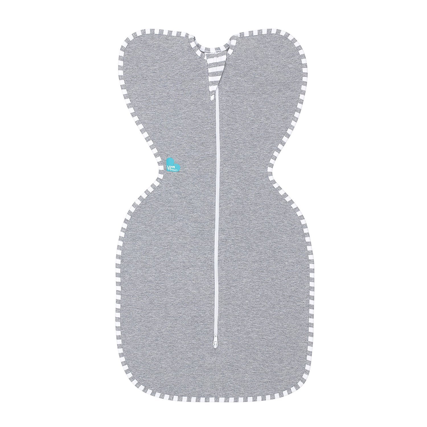 Love To Dream Swaddle UP Original, Gray, Small, 6.5-13 lbs.