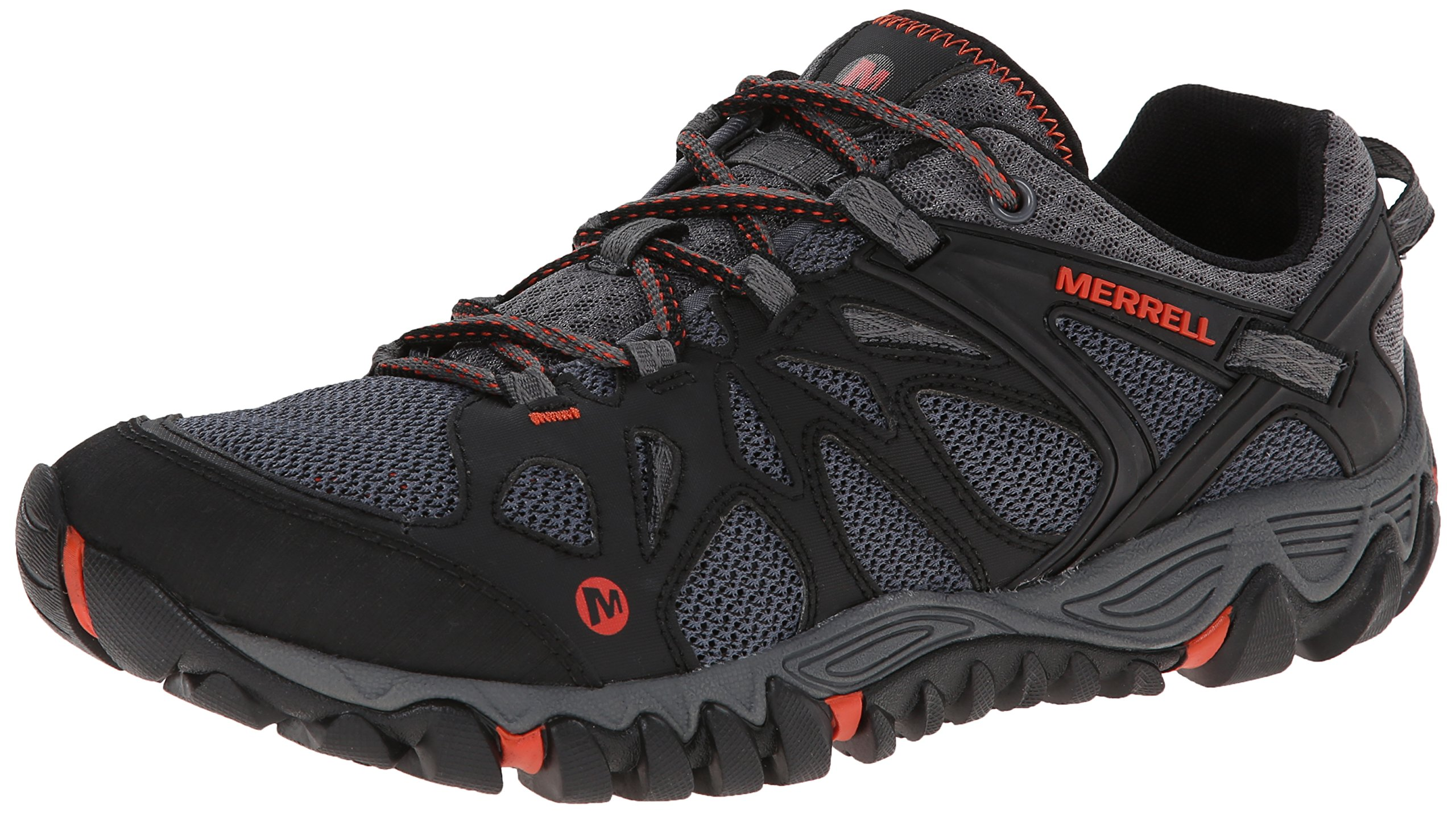 Merrell Men's All Out Blaze Aero Sport Hiking Water Shoe, Black/Red, 13 M US