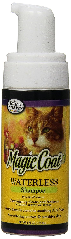 Four Paws Magic Coat Waterless Cat Grooming Shampoo, 6oz 100202593