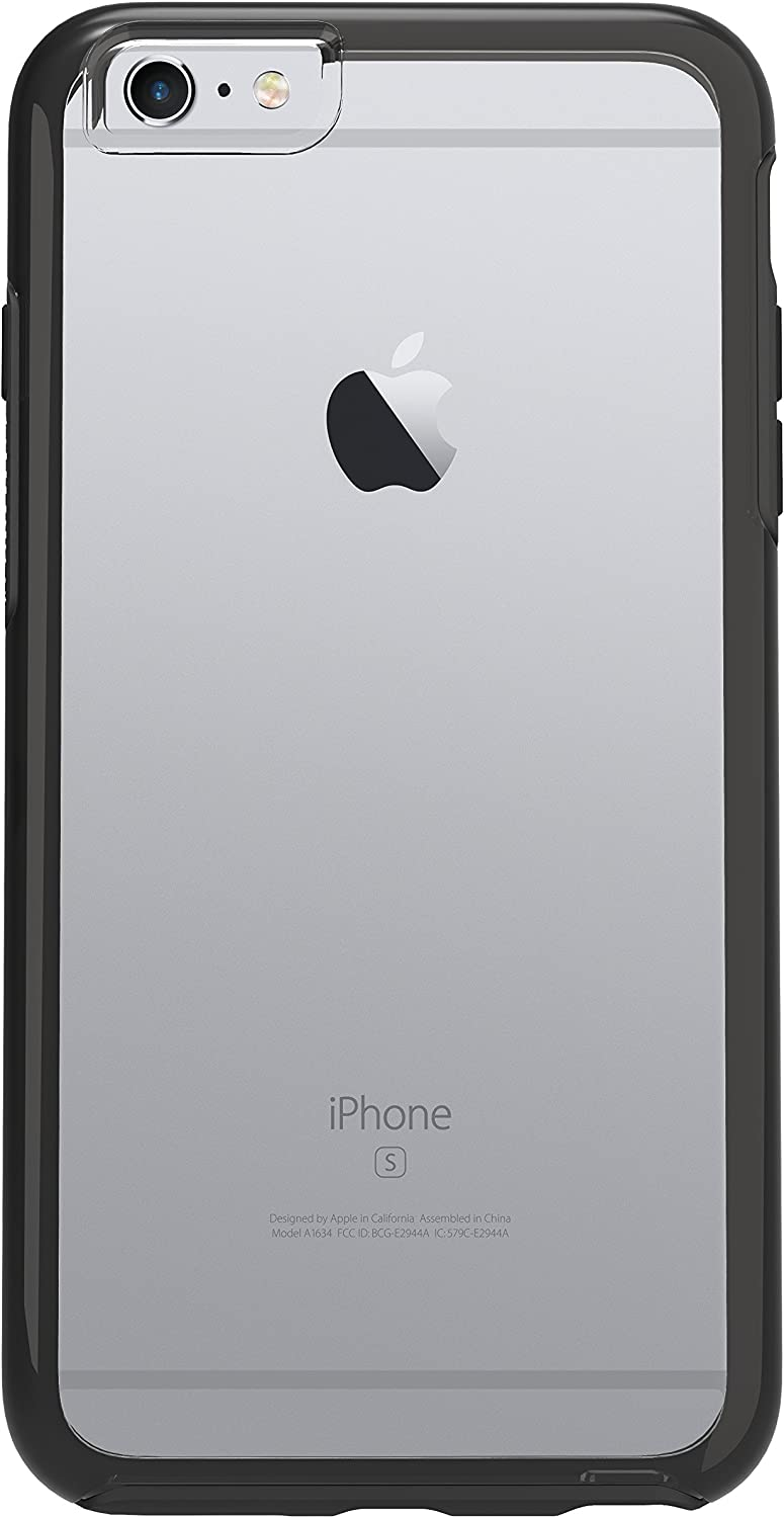 "OtterBox SYMMETRY SERIES Case for iPhone 6 Plus/6s Plus (5.5"" Version), BLACK CRYSTAL (CLEAR/BLACK) - Standard Packaging"