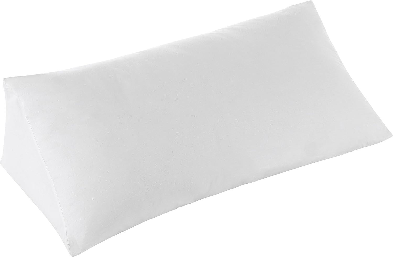 Cheer Collection Ultra-Pl/üsch und Bequeme Keilkissen f/ür Aufrichten im Bett Oder Schlafen Elevation 36 x 18 12 wei/ß