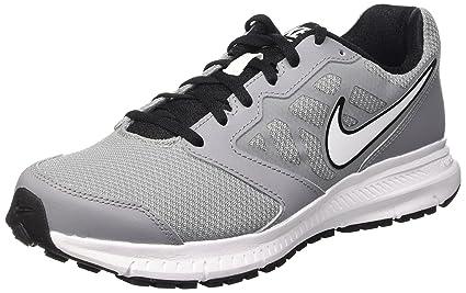 Nike Mens Downshifter 6 Stealth/White/Black/Black Running Shoe 8.5