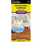 United States, Southwest (National Geographic Adventure Map, 3121)