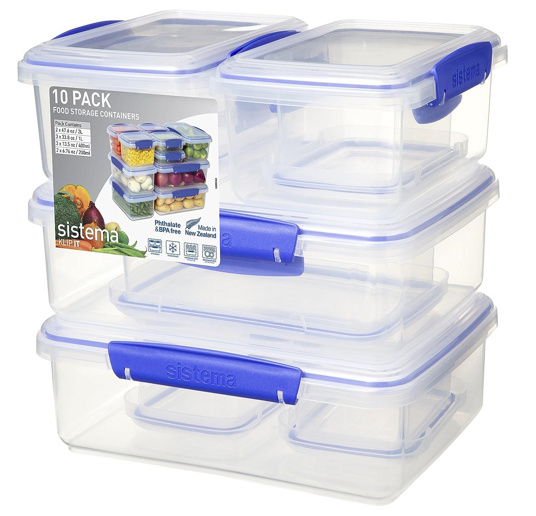 Sistema Klip It Collection Multi Piece Food Storage