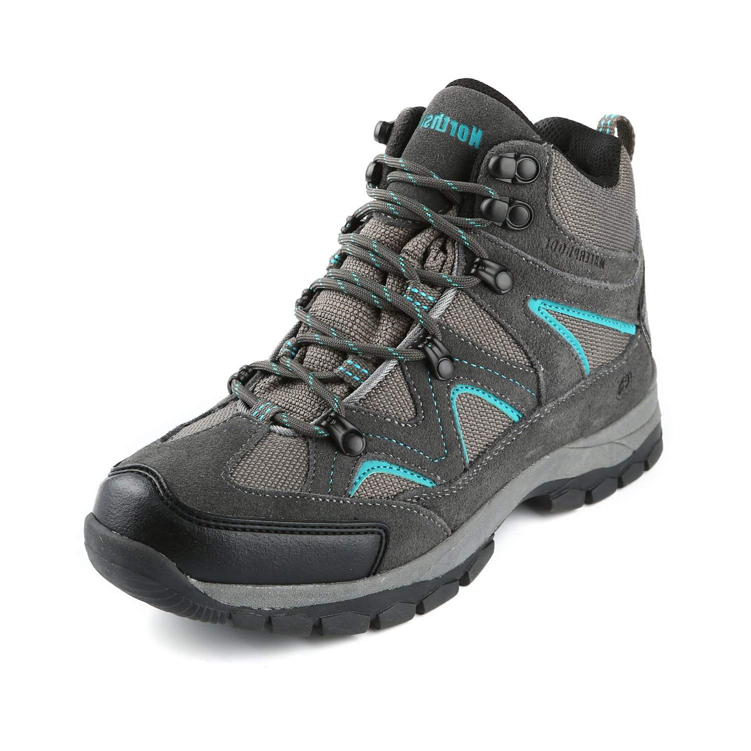 Northside Women's Snohomish Hiking Boot, Dk Gray/Dk Turquoise, 8.5 B(M) US
