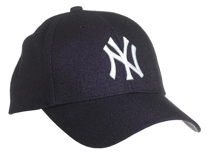 Gorra curva azul marino para niño de New York Yankees MLB MVP de 47 Brand -