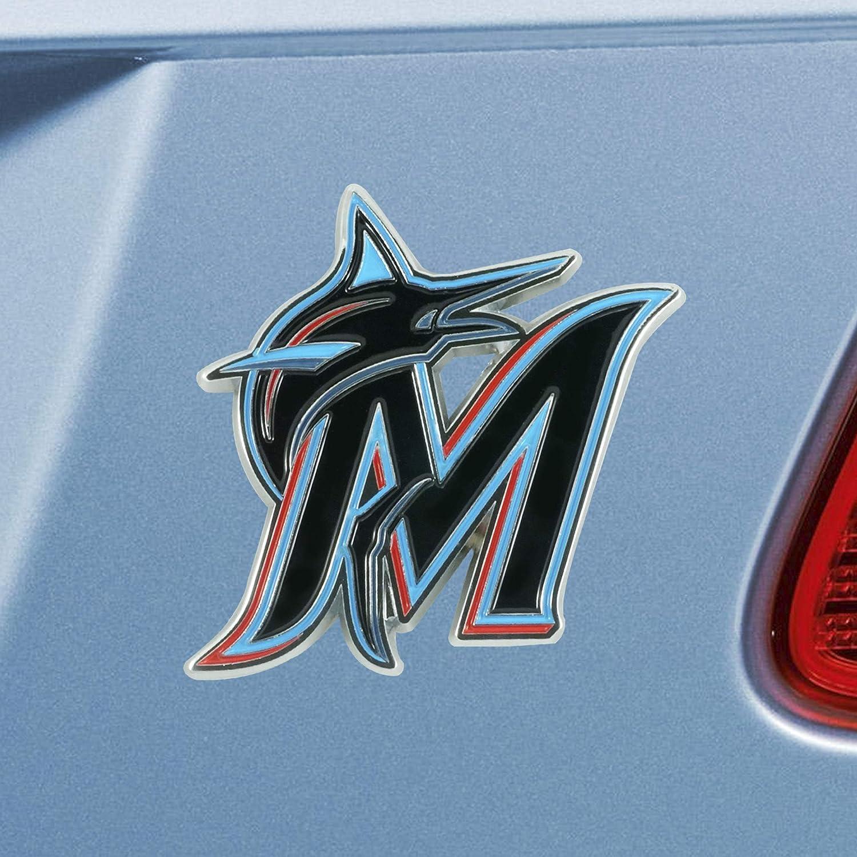 Miami Marlins 3D Metal Color Emblem FANMATS 26625 MLB
