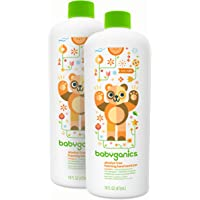 Babyganics 无*精泡沫洗手液补充装,16 盎司瓶(2 瓶装) 柑橘 16 0Z (PACK OF 2) 32