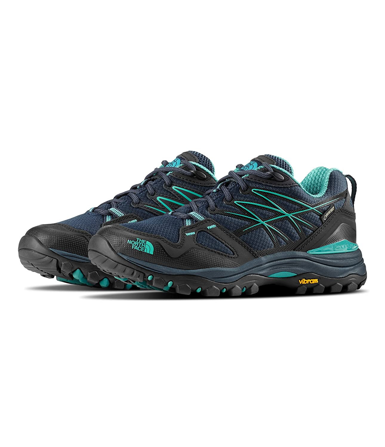 The North Face Womens Hedgehog Fastpack Gtx B07CYTB2G4 5|Urban Navy & Porclain Green