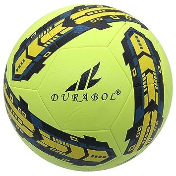 Durabol Balón de Fútbol Entrenamiento Talla 5 (AMARILLO 2): Amazon ...