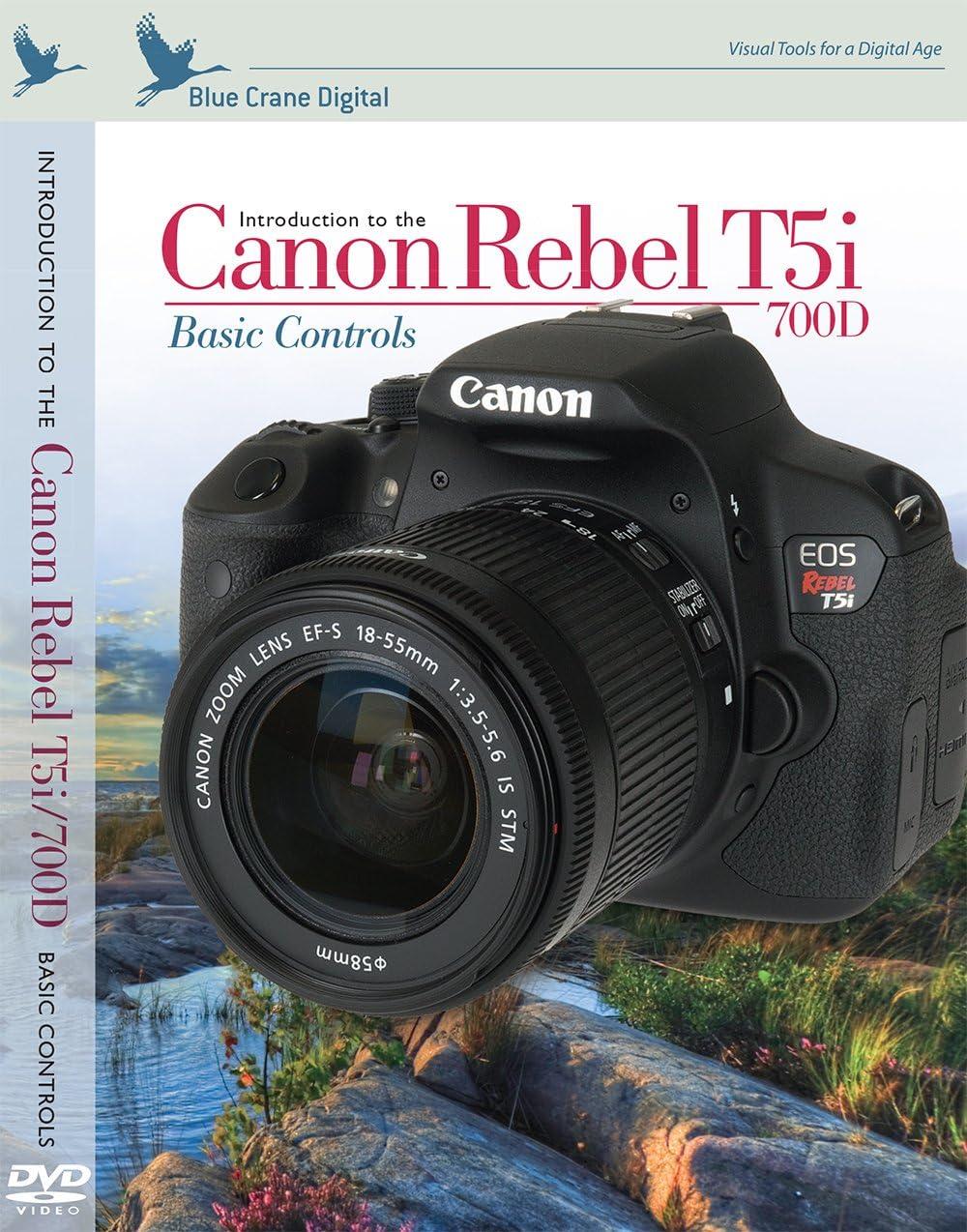 Blue Crane Digital Canon Rebel T5i//700D inBrief Laminated Reference Card zBC554