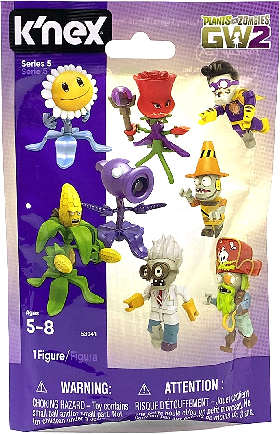 K'NEX GW2 Plants vs. Zombies Series 5 Mystery Pack