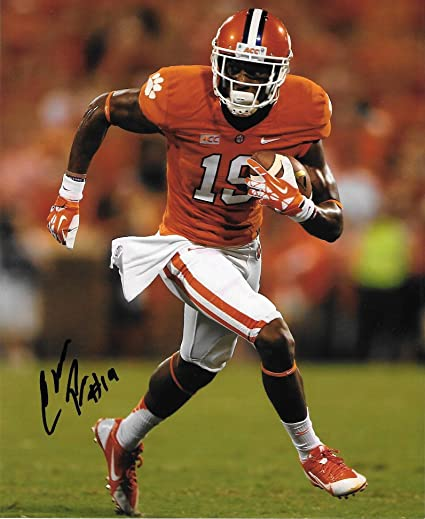 sports shoes 7d46f 6ee2d Charone Peake Signed Autographed Auto Clemson Tigers 8x10 ...