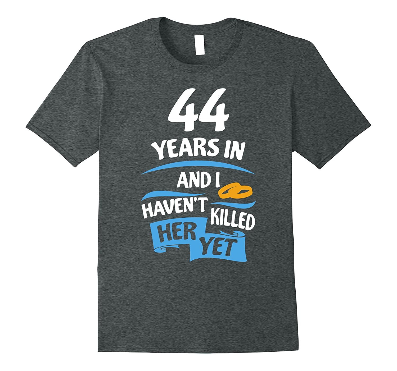 44th Wedding Anniversary Gift for Husband 44 Years Shirt