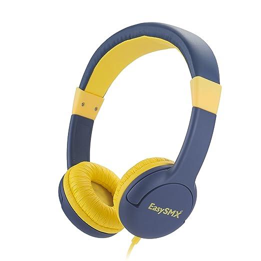 52 opinioni per EasySMX Cuffie Comode per Bambini Auricolari per Bimbi Over-ear Limitato Volume