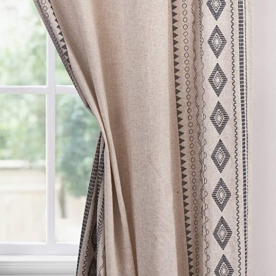84 SAGE BLUE Shabby Rustic Chic Farmhouse Velvet Window Valance Burlap Ruffles polyester velvet cotton Patchwork